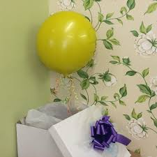 birthday balloons in a box birthday balloon in a box flowers in harlow florist in