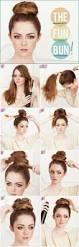 fun bun a very simple and easy hairstyle for casual routine fs