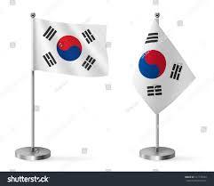 Blank Brazil Flag Set South Korea Flags Mini Flag Stock Photo 517773694 Shutterstock