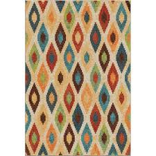Bright Colored Area Rugs Trellis 8 X 11 Area Rugs Rugs The Home Depot