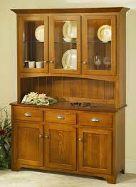 Oak Hutch And Buffet by Amish Peddler Custom Handcrafted Amish Furniture