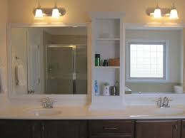 Double Sinks In A Small Bathroom Gallery Of Bathroom Small - Bathroom mirrors for double vanity