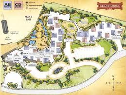 grand map lodging grand lodge on peak 7 property map