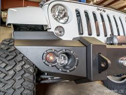 jeep lifestyle fab fours jeep wrangler jk lifestyle front winch bumper review