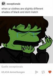 25 best memes about different shades of black different
