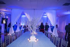 dance floor pipe and drape for cocktail style wedding at fop 89 in