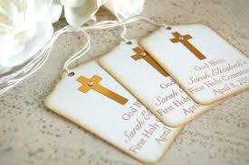 confirmation favors gold baptism favor tags communion favor tags gold
