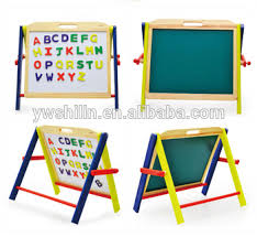 magnetic easel for toddlers simple reusable magnetic wooden drawing board with handle for kids