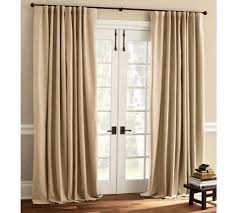 Pinch Pleated Patio Door Drapes by Patio Door Drapes Banded Bamboo Panel Family Room Sliding Glass