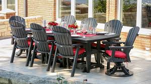 stunning poly patio furniture outdoor decor pictures poly lumber