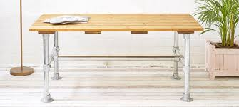 Build Your Own Adjustable Height Desk by Diy Table And Desk Frame Kits Steel And Aluminium Table Legs
