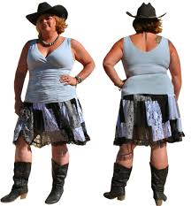 plus size skirts lace bbw denim cowgirl clubwear