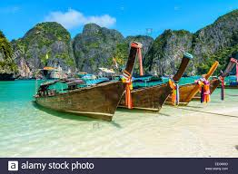 Stunningly by Maya Bay Is A Stunningly Beautiful Bay That U0027s Sheltered By 100