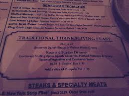 thanksgiving menu yelp