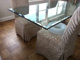 Shattered Glass Table by Architectural Glass
