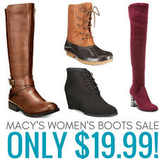 womens boot sale macys macy s s boots only 19 99 ezy blogs