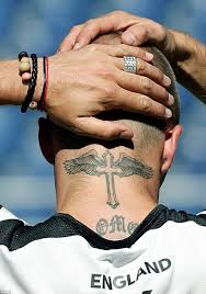 a look back at david beckham s 40 tattoos and their special meanings