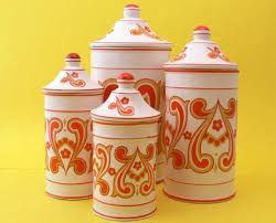 funky kitchen canisters 116 best kitchen canisters images on kitchen canisters