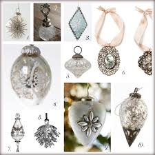 favorite glass and silver ornaments wall decor source