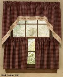 Kitchen Curtains Valance by 28 Primitive Country Kitchen Curtains Country Curtain