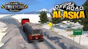 Usa Snow Map by American Truck Simulator Usa Offroad Alaska Map Youtube