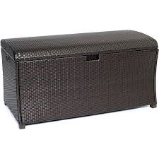 hanover large resin outdoor storage deck box 8085963 hsn