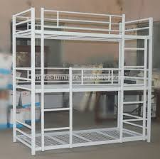 Metal Kids Adult Cheap Used Triple Bunk Beds For Hostels With Wire - Used metal bunk beds
