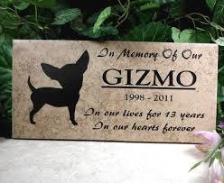 grave marker designs chihuahua grave marker 12x6 gizmo design