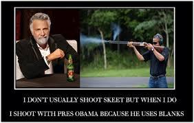 Obama Shooting Meme - contest best shop of obama shooting skeet maser media
