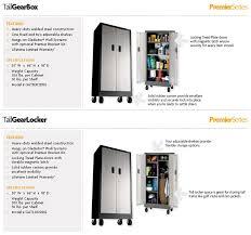 Gladiator Storage Cabinets Amazon Com Gladiator Garageworks Gatb302drg Premier Tall Gearbox