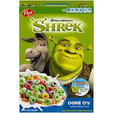 Breakfast Food Cereal Walmart Com by Dreamworks Shrek Ogre O U0027s Cereal 13 Oz Walmart Com
