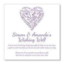 wedding wishes gift registry non tacky wishing well poems and sayings asking for money