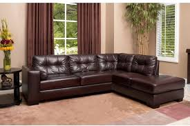 Abbyson Living Leather Sofa Abbyson Living Palermo Top Grain Leather Sectional Leather Sofa