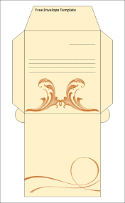 15 best printable envelope templates sample templates