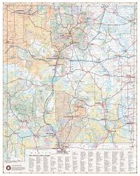New Mexico Cities Map New Mexico Recreation Map U2014 Benchmark Maps