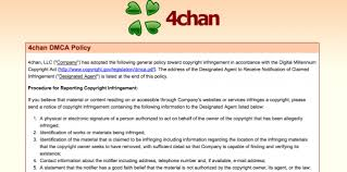 4chan adopts dmca policy after photo postings ars