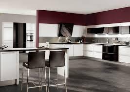 cuisine blanche sol noir cuisine carrelage sol noir meilleur idées de conception de maison