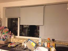 my kitchen window makeover how to use multiple blinds to cover a