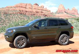 green jeep grand cherokee jeep grand cherokee 75th anniversary edition review off road com
