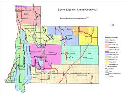 Circuit Court Map Districts