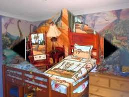 Dinosaur Bedroom Furniture by Creative Dinosaur Bedroom Decorations Youtube