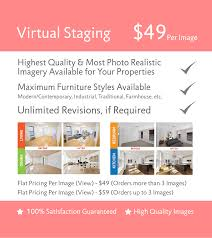 virtual staging solutions services the 2d3d floor plan company