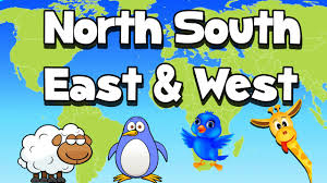 Interactive World Map For Kids by Cardinal Directions Song Youtube
