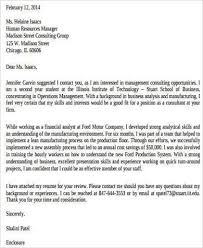 consulting cover letter template cover letter bcg cover letter