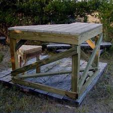 woodwork shooting bench design plans pdf plans
