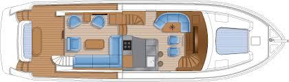 luxury yacht floor plans hampton yachts