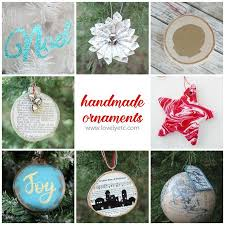 handmade memory ornament i nap time