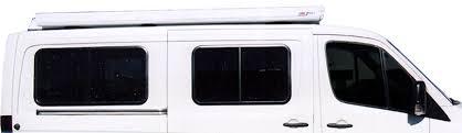 Van Rear Door Awning Sportsmobile Custom Camper Vans Sprinter Windows