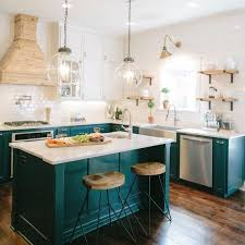 colorful kitchen islands the turquoise home simple diy cozy home joyful