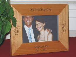 personalized wedding photo frame wedding picture frames personalized wedding picture frames
